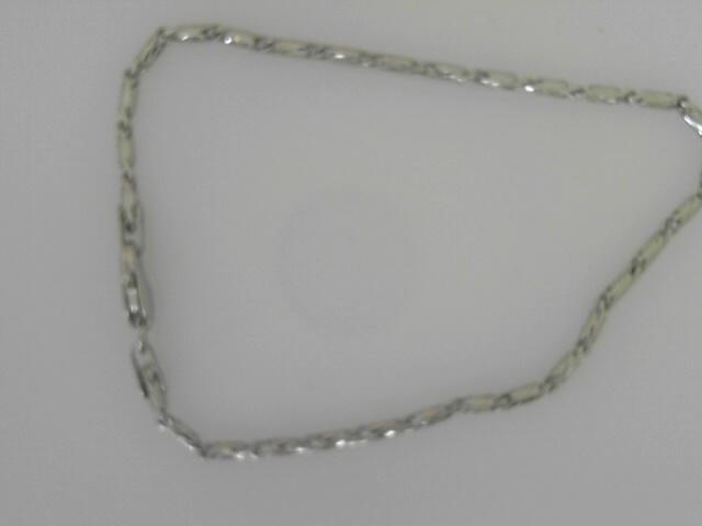 14 Karat White Gold Raso Bracelet 7