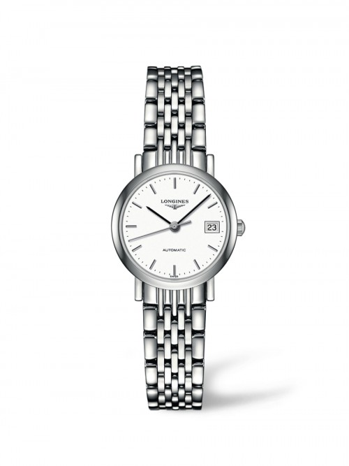 Longines: Stainless Steel 25mm Elegant Automatic  Watch (L43094126)