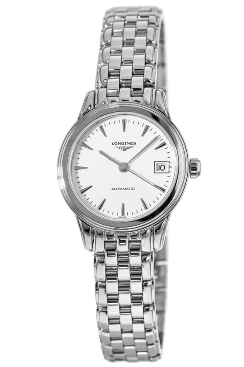 Longines: Stainless Steel 26mm Flagship Automatic Watch (L42744126)
