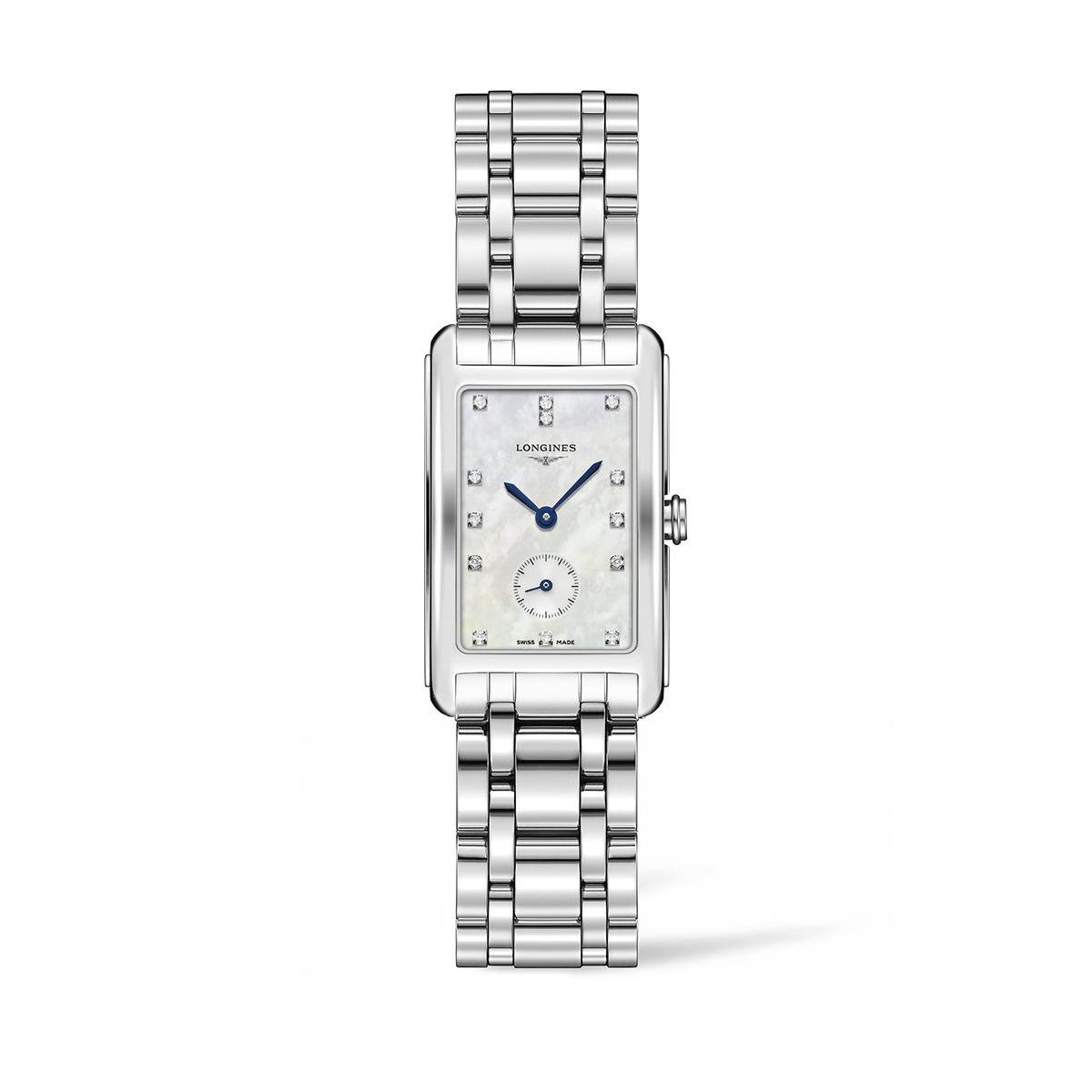 Longines Stainless Steel 23.3X37mm DolceVita Quartz Watch (L55124876)