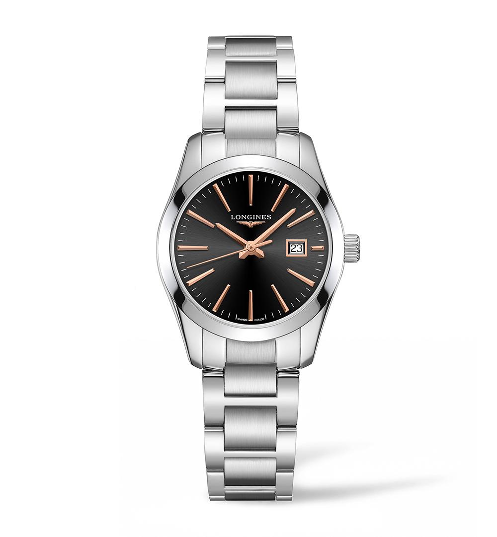 Longines Stainless Steel 29.5mm Conquest Classic Quartz Watch(L22864526)