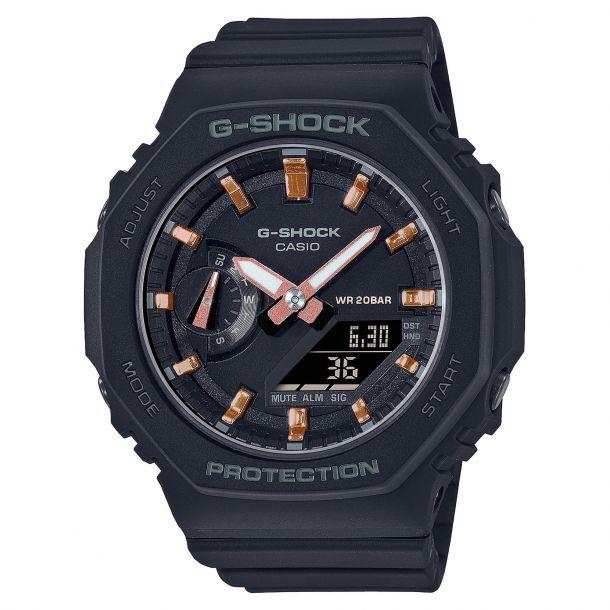 Casio G-Shock S Series Black Resin Strap Watch(GMAS2100-1A)