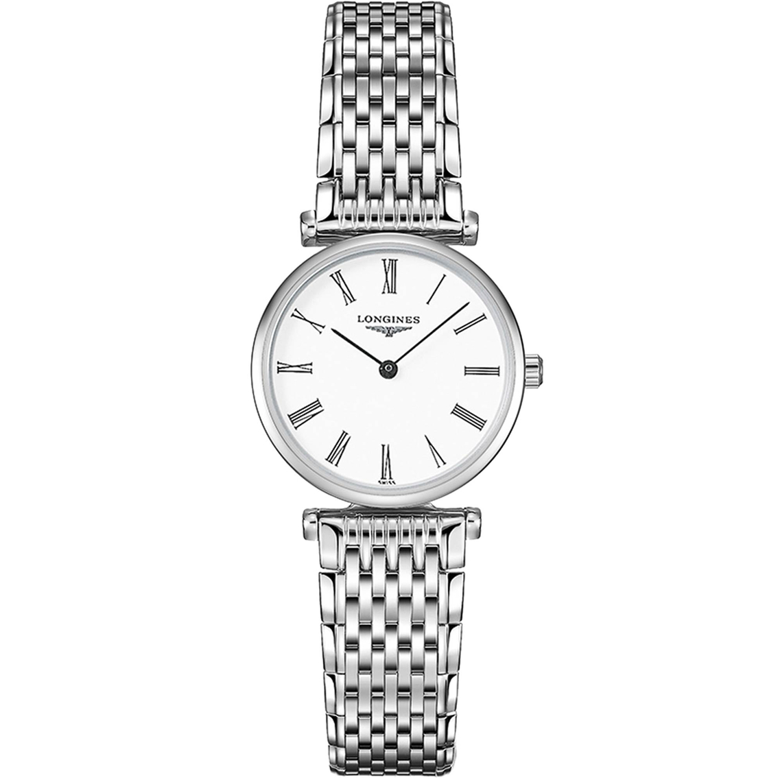 Longines Stainless Steel 24mm La Grande Classique Quartz Watch(L42094116)