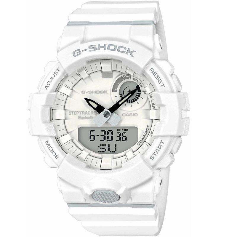 Casio: G-Shock  Analog-Digital Urban Trainer Connected White Watch