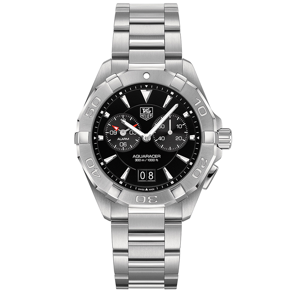 TAG Heuer AQUARACER Quartz Chronograph Watch (WAY111Z.BA0928)