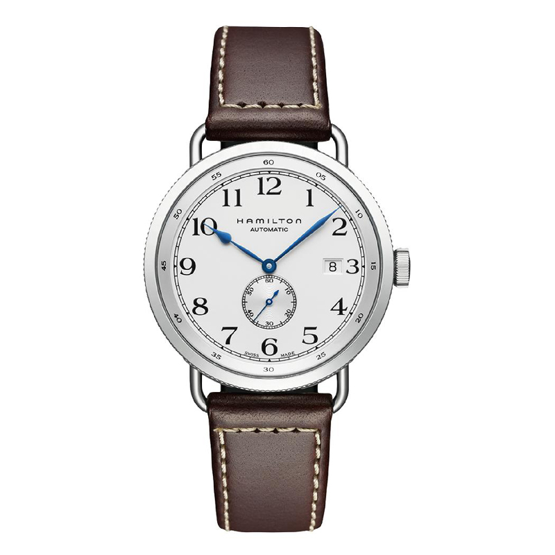 Hamilton: Stainless Steel 40mm Khaki Navy Pioneer Small Second Hand Automatic Watch