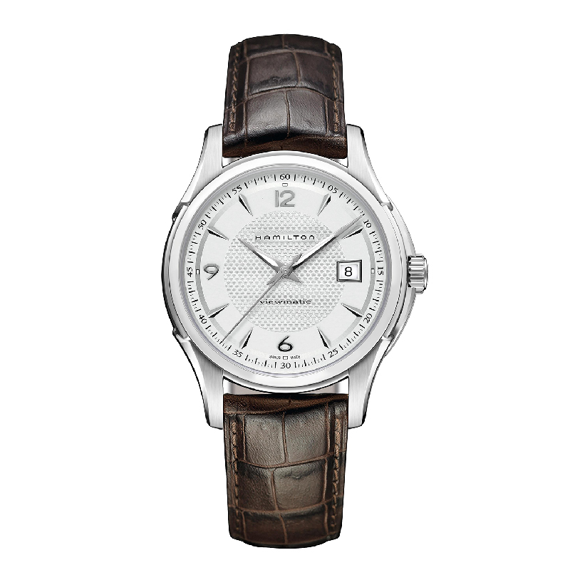 Hamilton: Stainless Steel 40mm Jazzmaster Viewmatic Automatic Watch