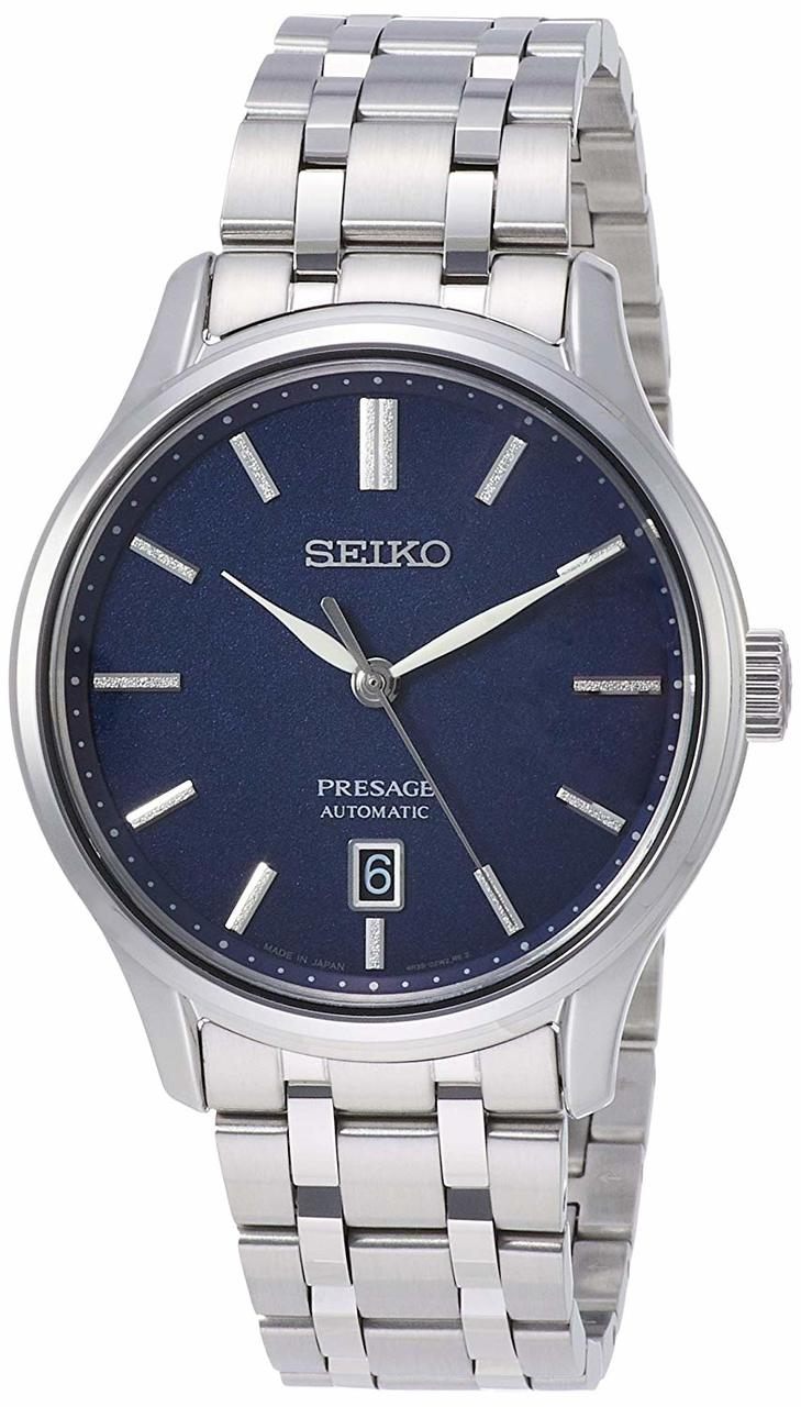 Seiko Presage Stainless Steel  Automatic Dress Watch (SRPD41)