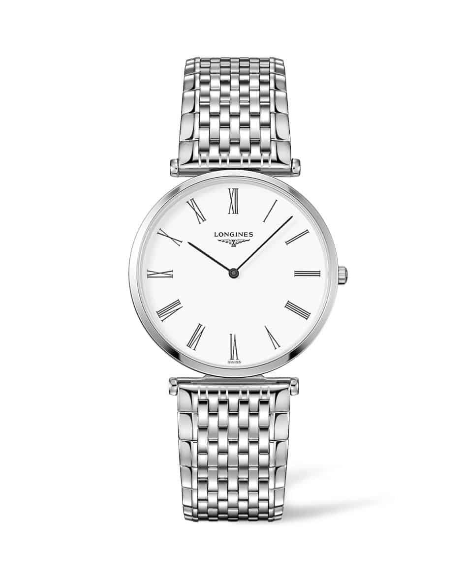 Longines Stainless Steel 36mm La Grande Classique  Quartz Watch(L47554116)