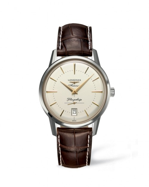 Longines:  Flagship Heritage  Stainless Steel 38mm Automatic Watch (L47954782)