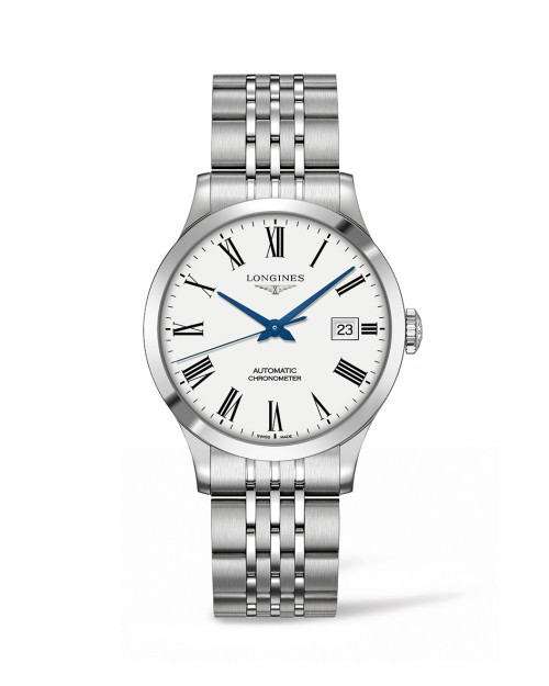 Longines Stainless Steel 30mm Record Automatic Chronometer Certified By The COSC (L23214116)