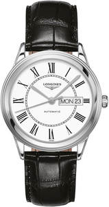 Longines Stainless Steel 38.5mm Flagship Automatic Watch (L48994212)