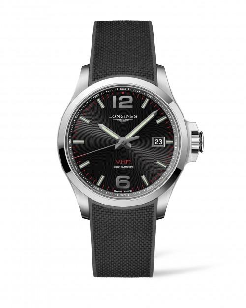 Longines Stainless Steel 43mm Conquest V.H.P. Perpetual Calendar, Quartz Watch(L37264569)