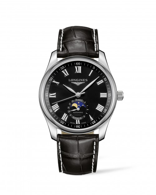 Longines: Stainless Steel 40mm Master Automatic Watch