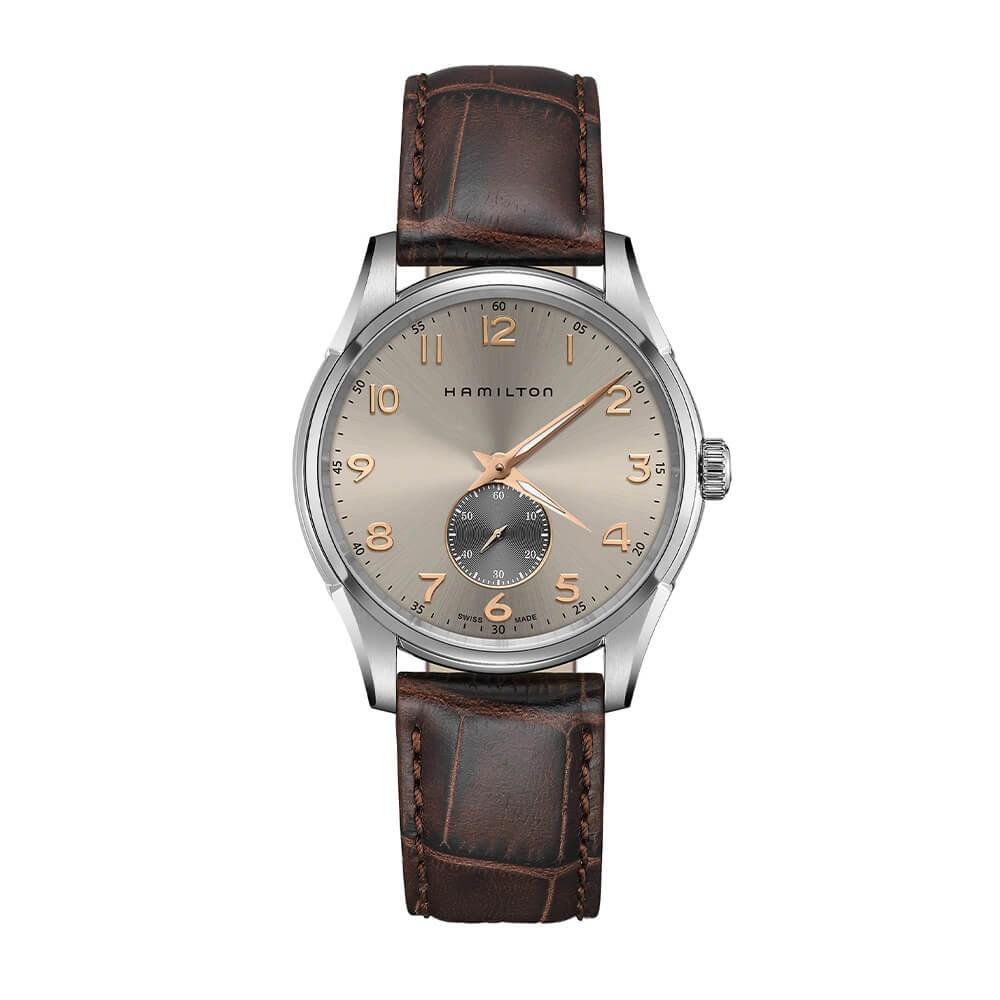 Hamilton: Stainless Steel 40mm Jazzmaster Thinline Small Second  Quartz Watch