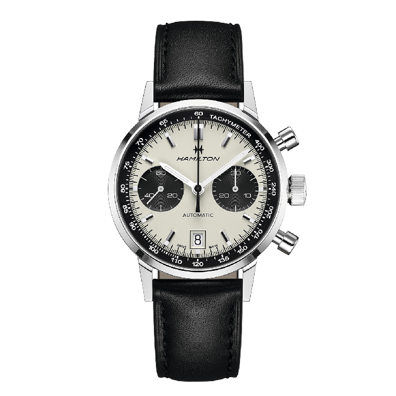 Hamilton: Stainless Steel 40mm Intra-Matic Auto Chronograph