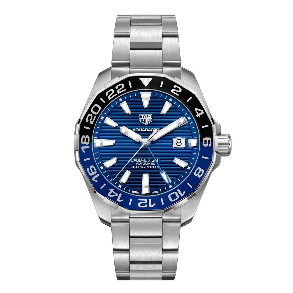 TAG Heuer  AQUARACER Calibre 7 GMT Automatic Watch (WAY201T.BA0927)