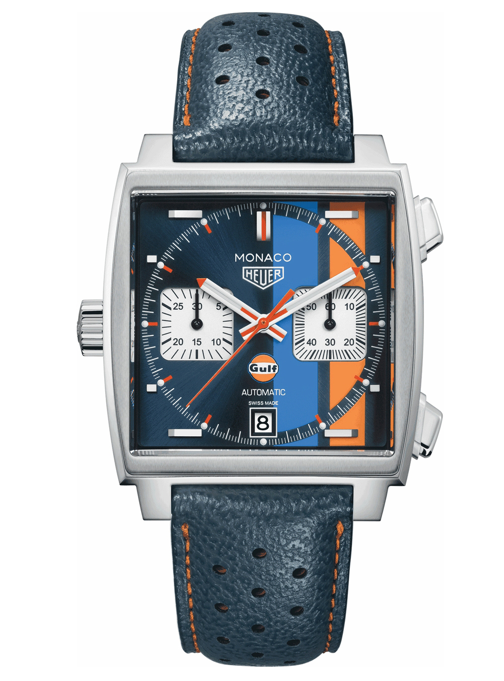 TAG Heuer  Special Edition MONACO Automatic Chronograph Watch (CAW211R.FC6401)