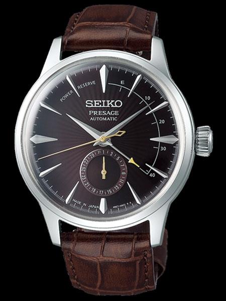 Seiko Presage Stainless Steel 40.5mm Date Wheel Automatic Watch (SSA393)