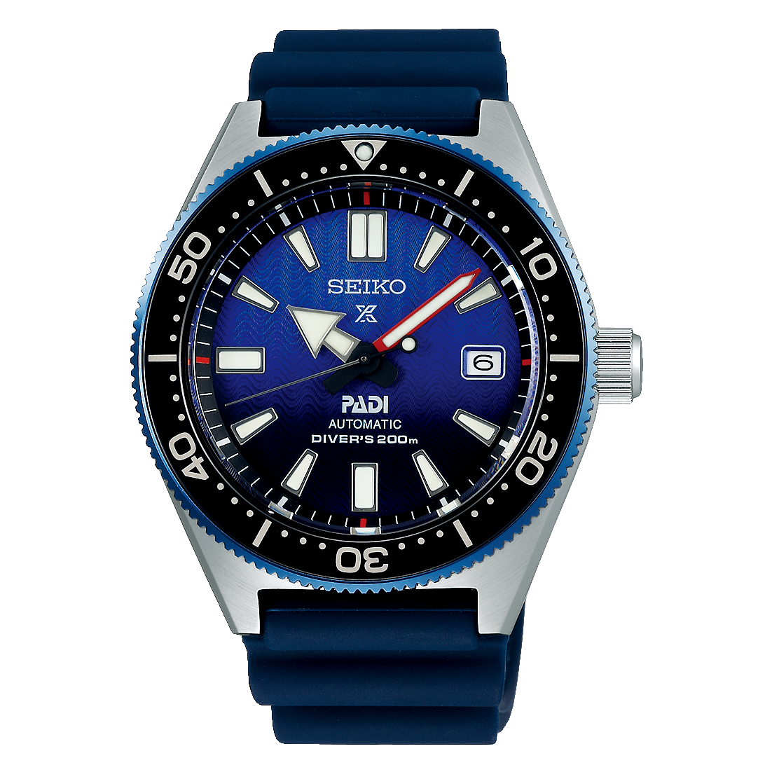 Seiko Prospex Stainless Steel Special Edition Padi Diver's 200m Watch (SPB071)