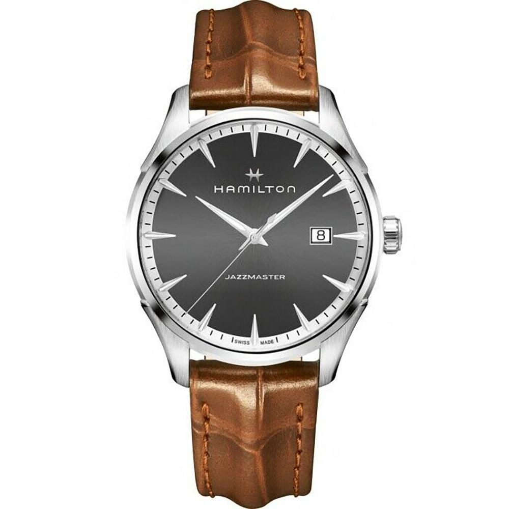 Hamilton: Stainless Steel 40mm Jazzmaster  Quartz Watch