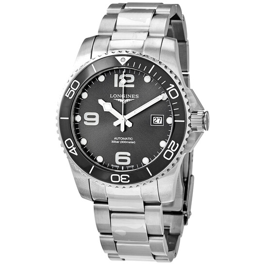 Longines: Stainless Steel 41mm Hydroconquest Automatic Watch