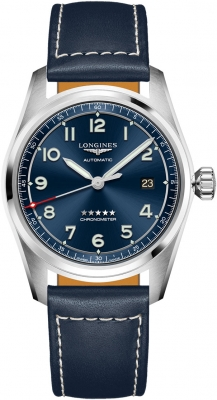 Longines: Stainless Steel 40mm Spirit Automatic Watch Chronometer Certified By The COSC
