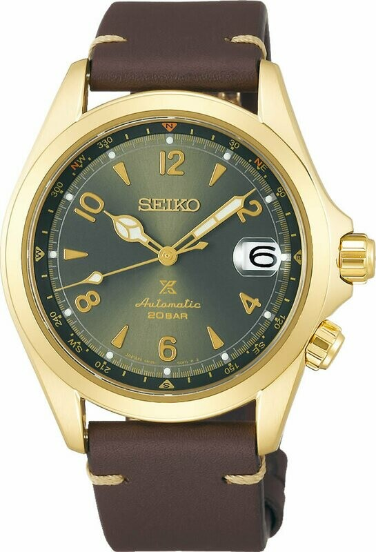 Seiko Gold PVD Over Stainless Steel Prospex