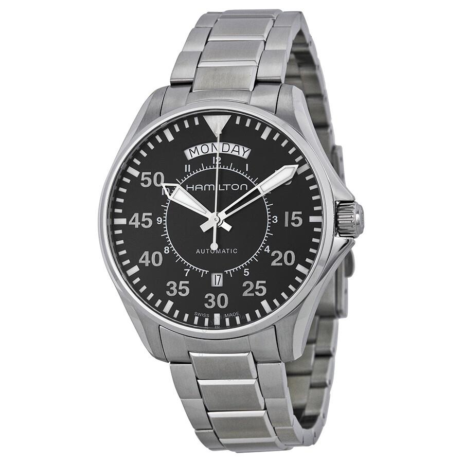 Hamilton Khaki Aviation Pilot Day Date Automatic Watch