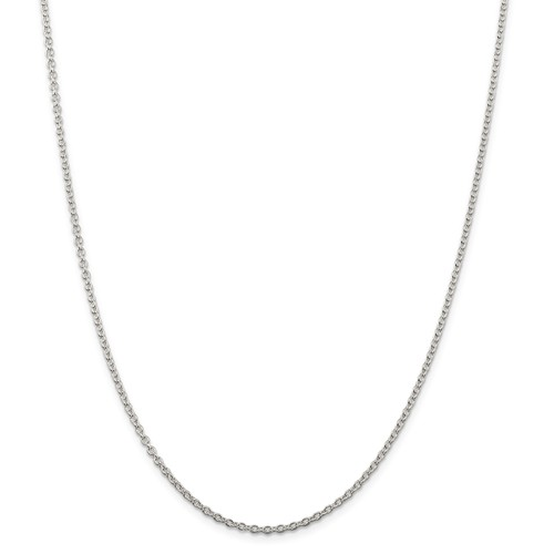 Sterling Silver Chain  Cable Chain 1.95mm 20