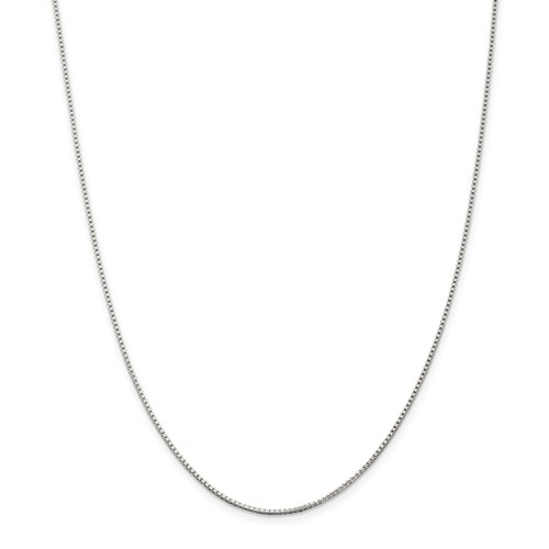 Sterling Silver 1.10mm Box Chain 20