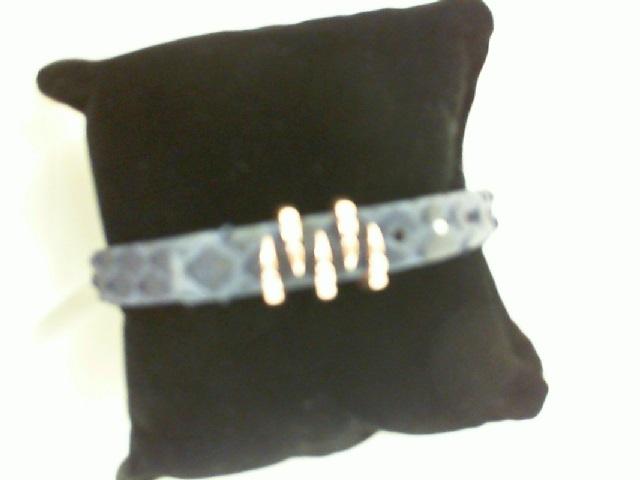 Sting HD: Rose Sterling Silver/Rose Gold Plating Bracelet Name: Blue Python/Claw Length: Medium Diameter: 9mm