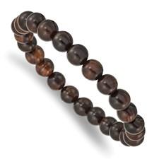 Bracelet  Red Sandalwood Beads