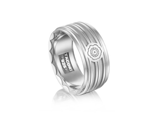 Tacori: Sterling Silver 11mm Ring Size 11 Name: Monterey Roadster Racing