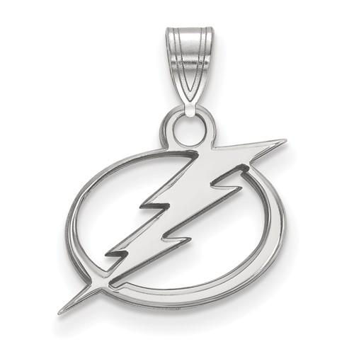 Sterling Silver NHL Lightning Charm