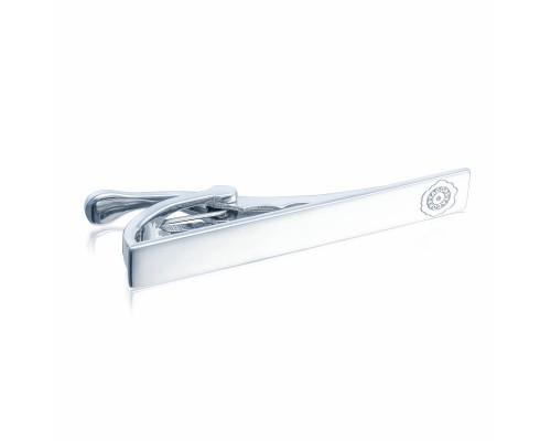 Tacori: Sterling Silver Engraved Tie Bar Diameter/Size: 2x0.25