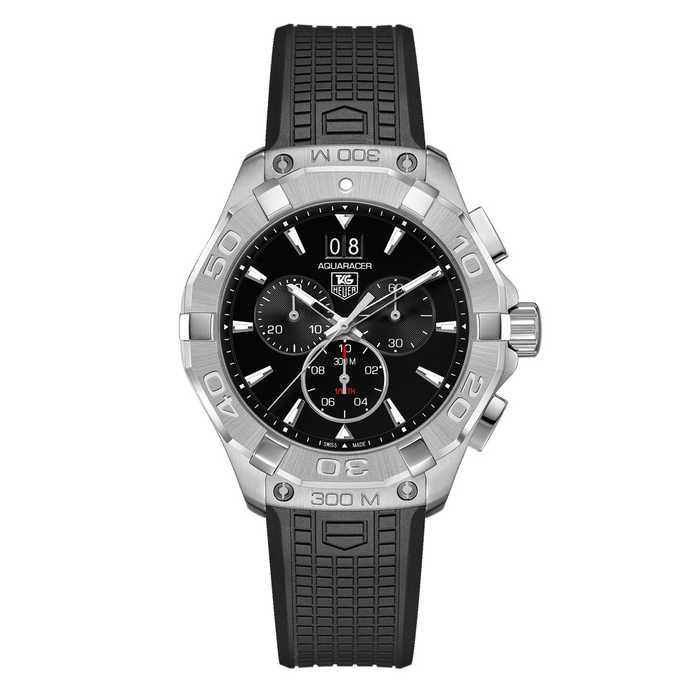 Aquaracer 300M Steel Bezel Quartz Chronograph
