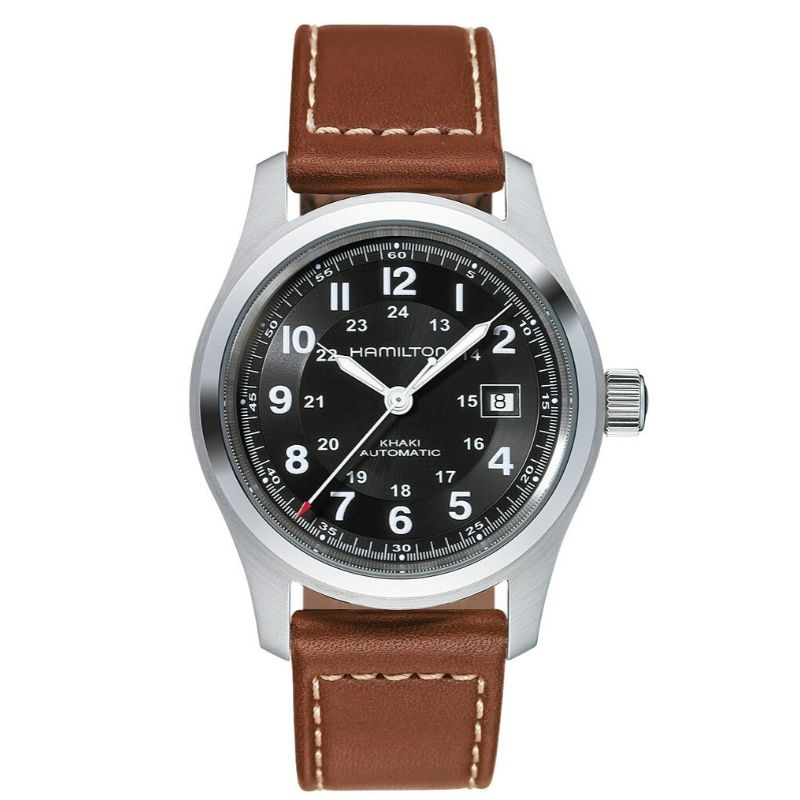 Gents Stainless Steel Khaki Field Automatic Watch  Name Of Bracelet