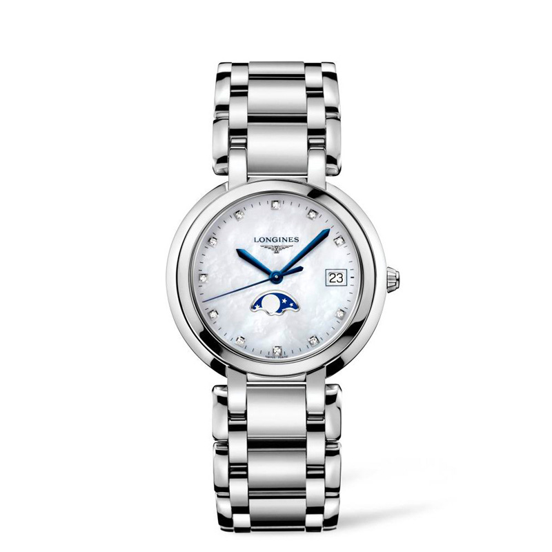 Longines PrimaLuna 34mm Stainless Steel