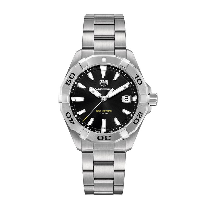 Aquaracer 300M Steel Bezel Quartz Watch